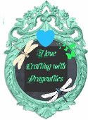 Dragonfly badge I love