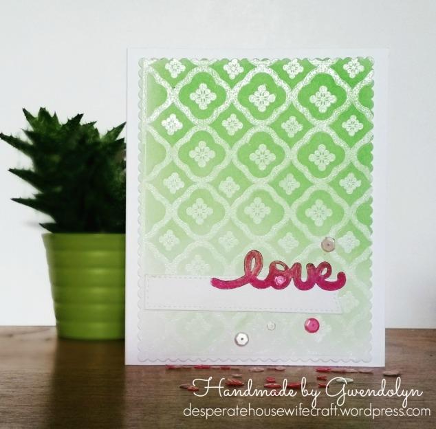 stencil-emboss-green-ombre