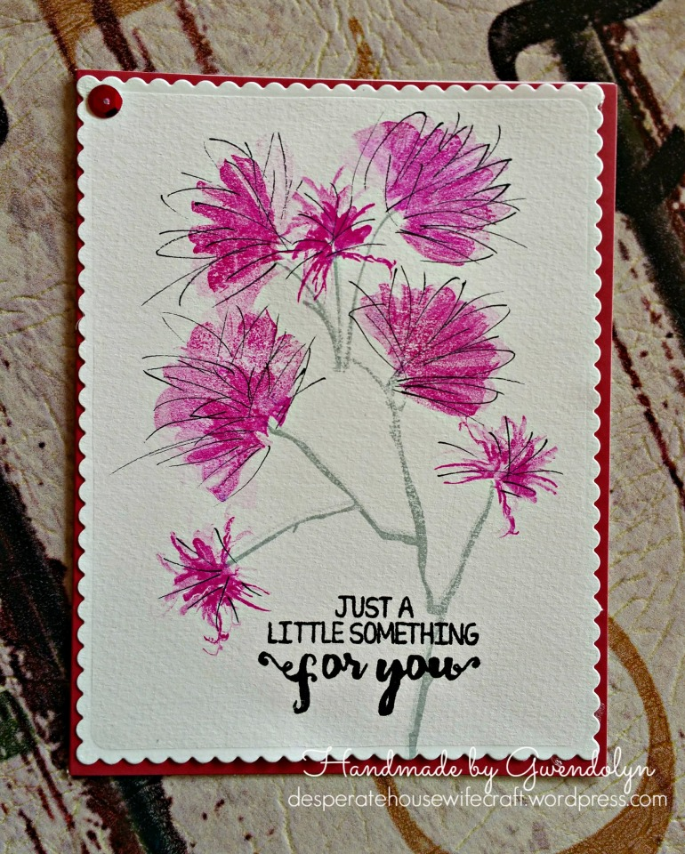Tombow stamping