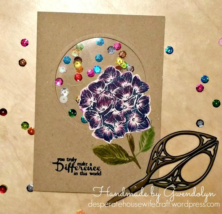 Hydreangea shaker card.jpg
