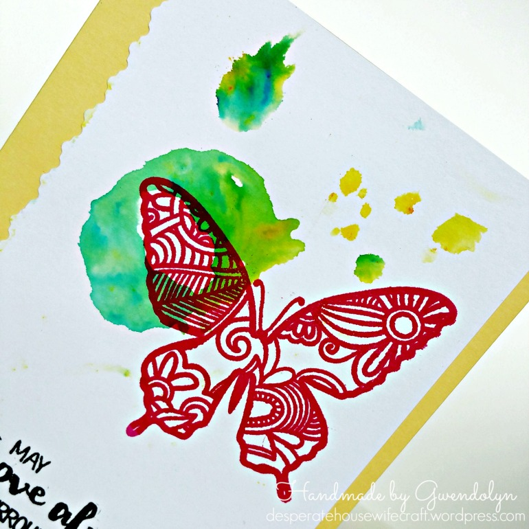 stamplorations butterfly cu