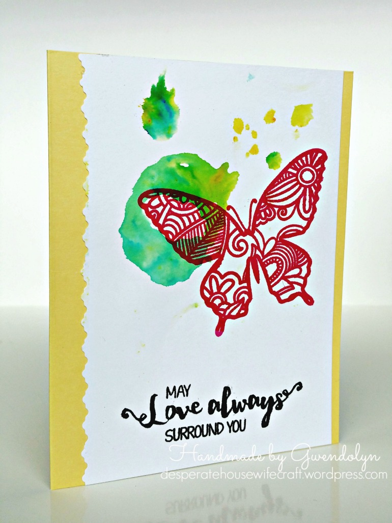 stamplorations butterfly