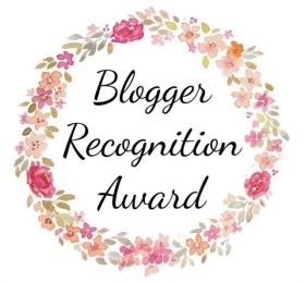 blogger recog award