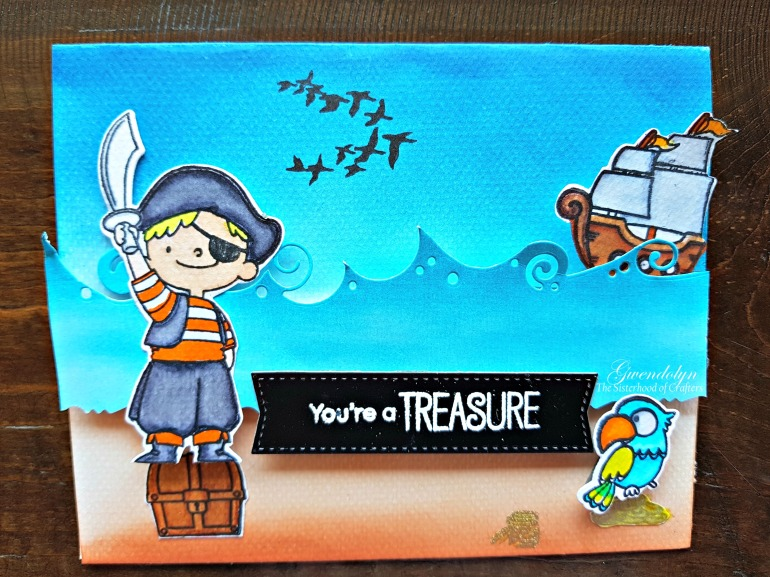 You're a treasure 1