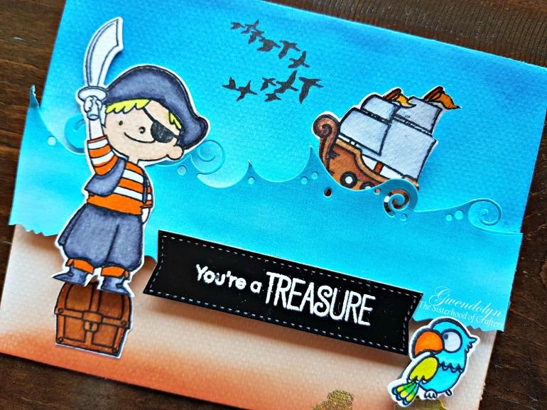 You're a treasure cu