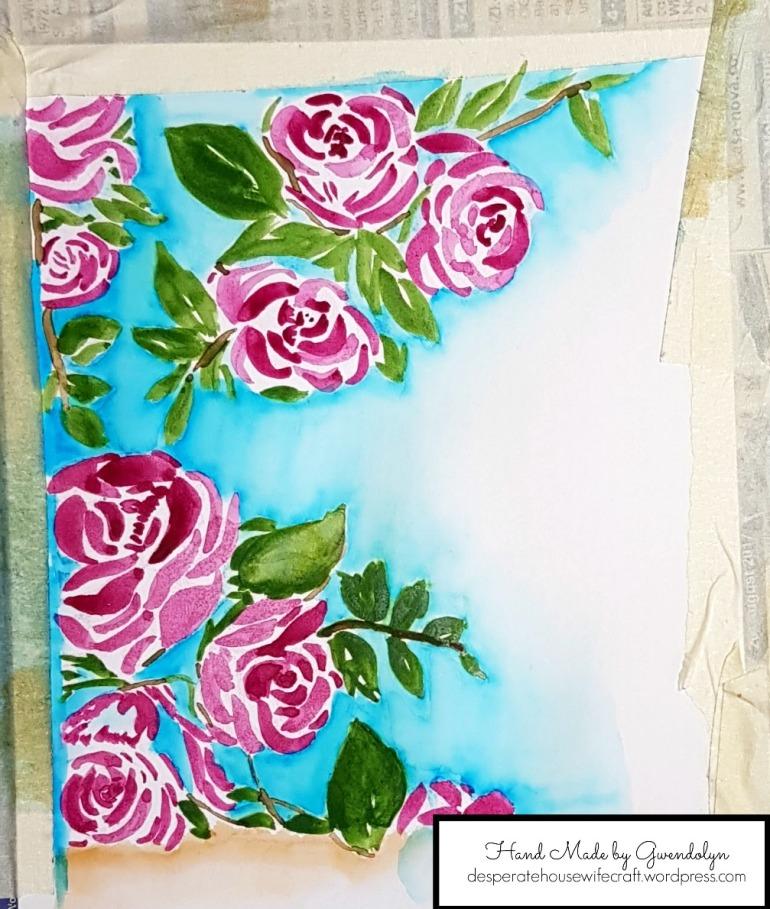 Terrace rose blue