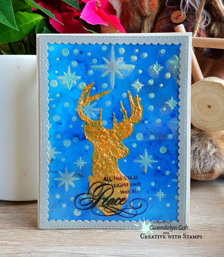 Stamplorations Reindeer main