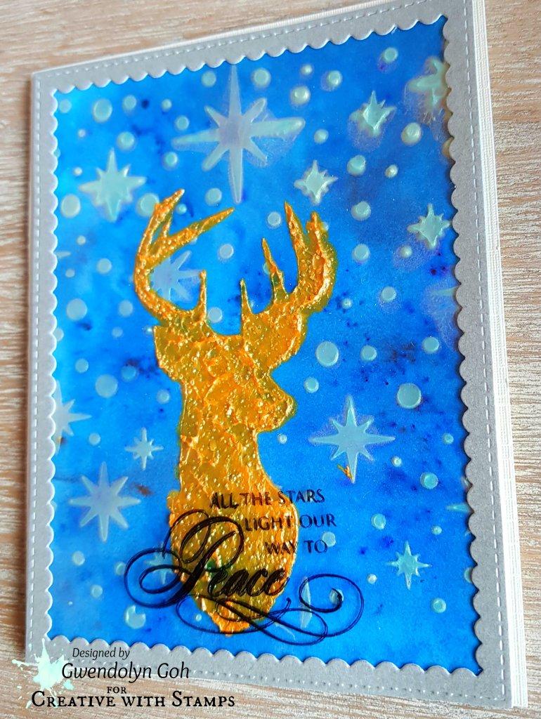 Stamplorations Reindeer side