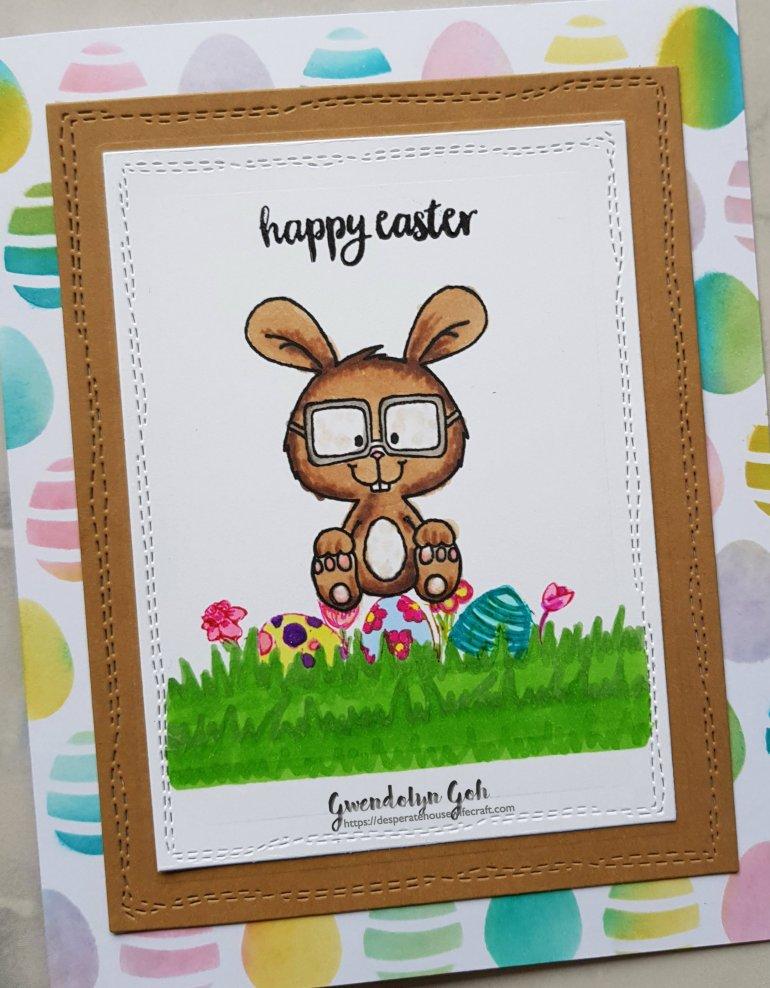 Easter bunny cu