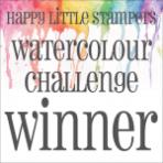 HLS Watercolour Winner Badge