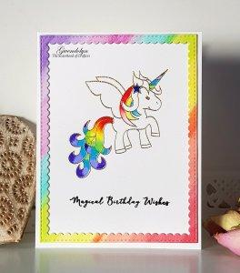 Craftin desert diva unicorn