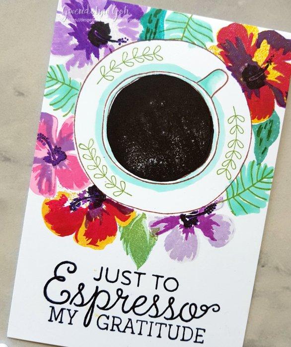 Espresso thanks cu