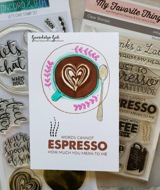 Espresson friendship stamps