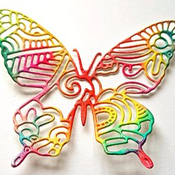 multicolor butterfly3