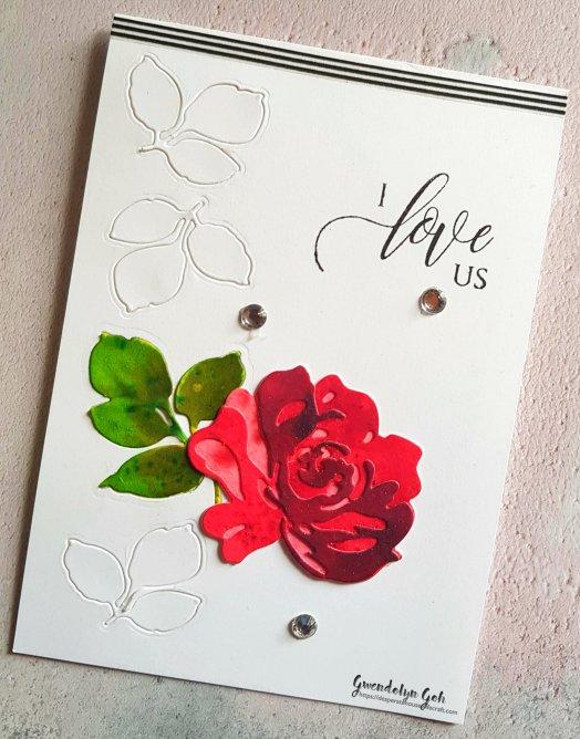 rose card cu