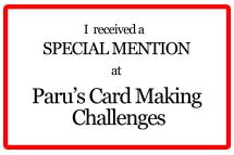 Paru Special mention