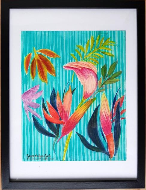 vibrant tropicals