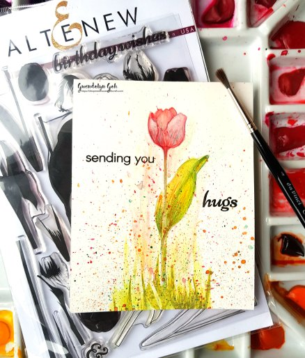 Altenew Tulip product