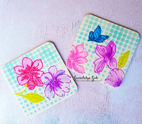 coasters wout gesso