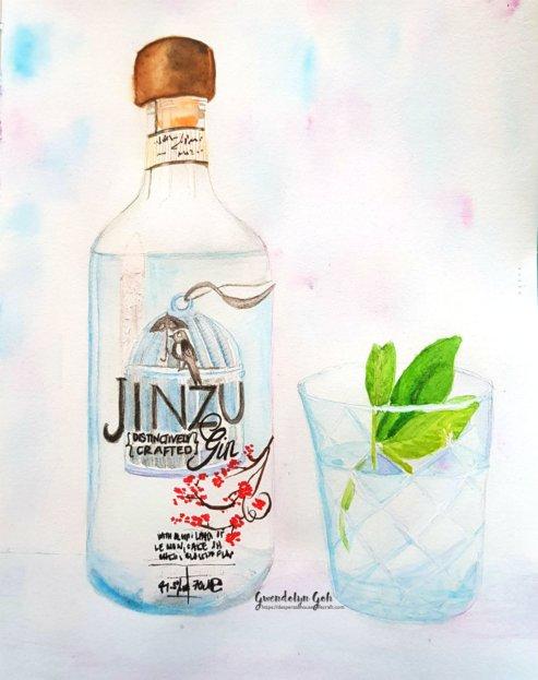 Day 10 gin n tonic skillshare