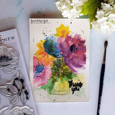 watercolor bouquet main
