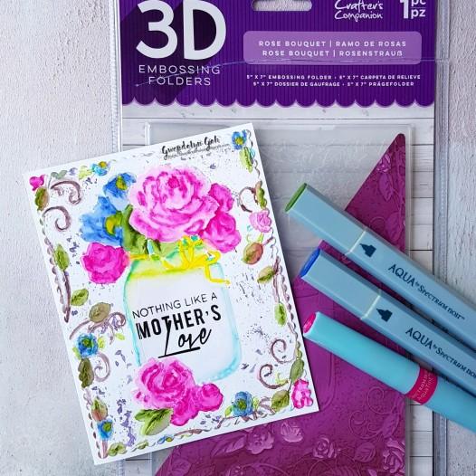 3d rose bouquet products