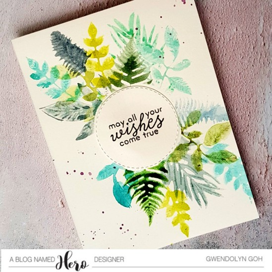 Stamp you own plant