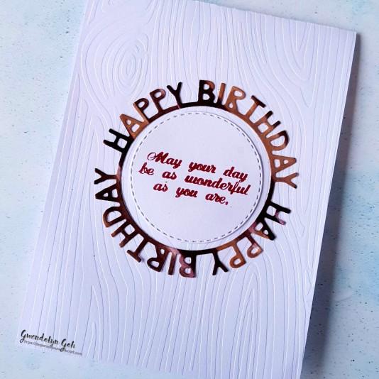 Masculine bday card cu