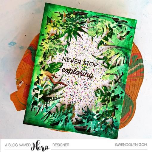 Watercolor jungle cu