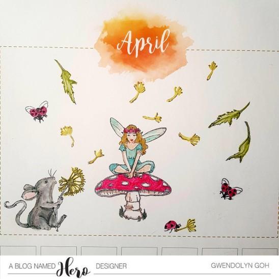 April calendar cu